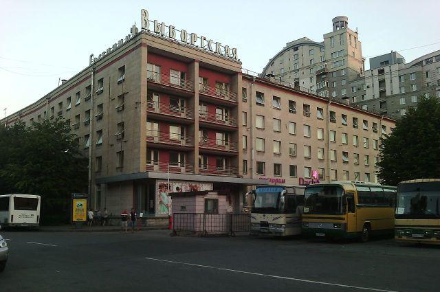 Здание, в котором бард встретил вторую супругу.