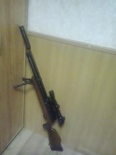 Стрелок в Красноярске, ружье