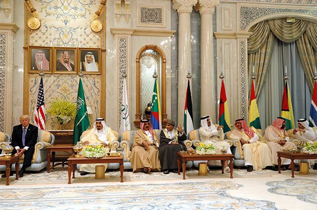 Визит Дональда Трампа в Саудовскую Аравию