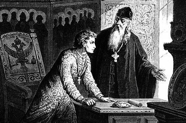 Поп Сильвестр обучал молодого Ивана Грозного и стал редактором