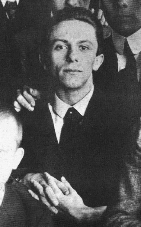 Геббельс в 1916 году.