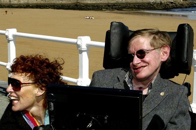 Стивен Хокинг и Элейн Мейсон.