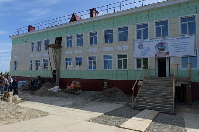 В Горковской школе обучаются более 260 детей