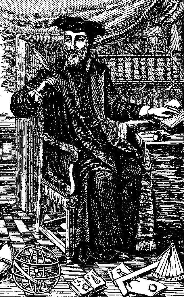 Портрет Нострадамуса. Работа неизвестного художника.