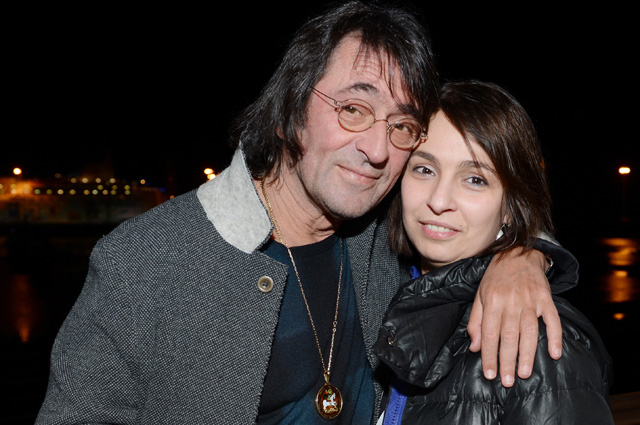 Музыкант Юрий Башмет с дочерью Ксенией. 2014 г.