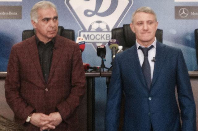 Гурам Аджоев и Борис Ротенберг