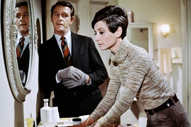 Одри Хепберн в фильме «Дождись темноты».