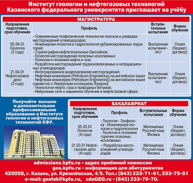 Казанский университет макет