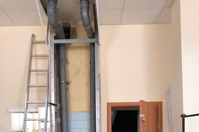 Последние фото из центра - проведен ремонт.
