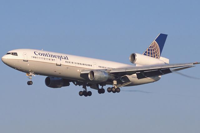 DC-10-30 компании Continental Airlines