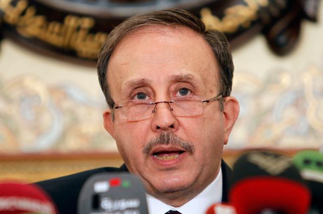 Спикер сирийского парламента Мохаммад аль-Лахам