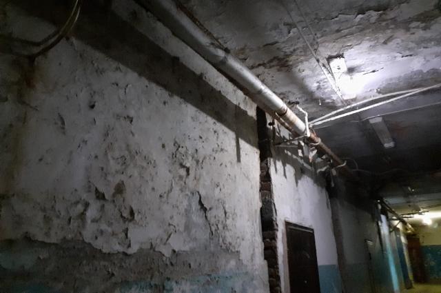 Ходить по коридорам страшно, делятся жильцы.