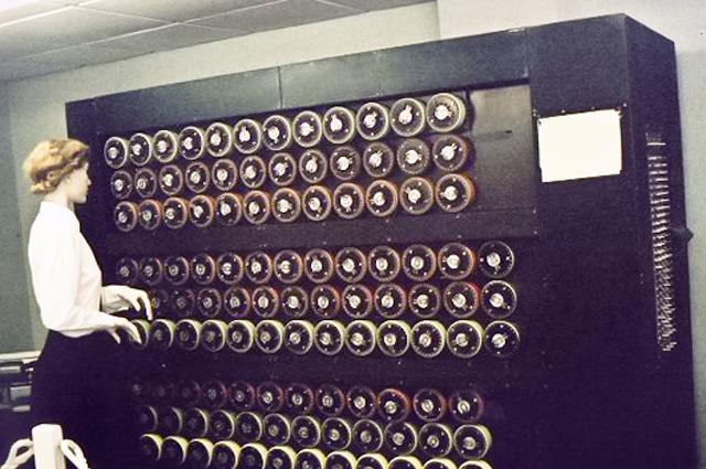 Дешифровальная машина Bombe
