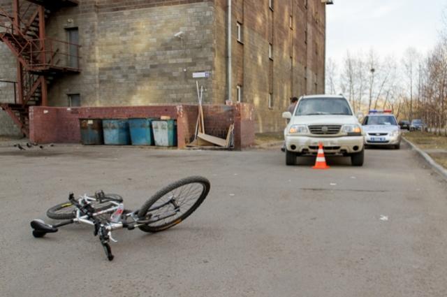 Нередки случаи ДТП с участием велосипедистов.