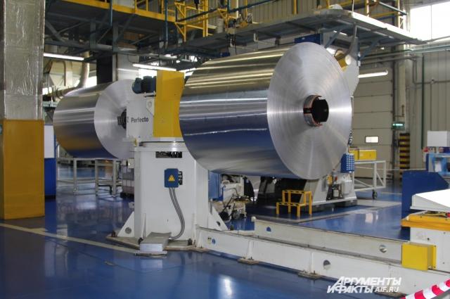 Оборудование на заводе полностью закуплено за рубежом