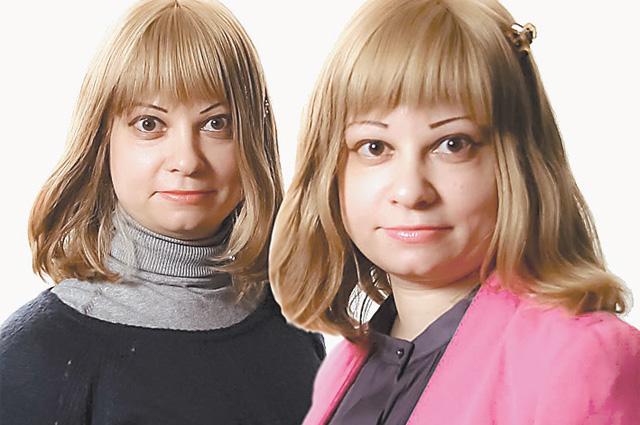 Анна и Ксения. Точнее, наоборот.