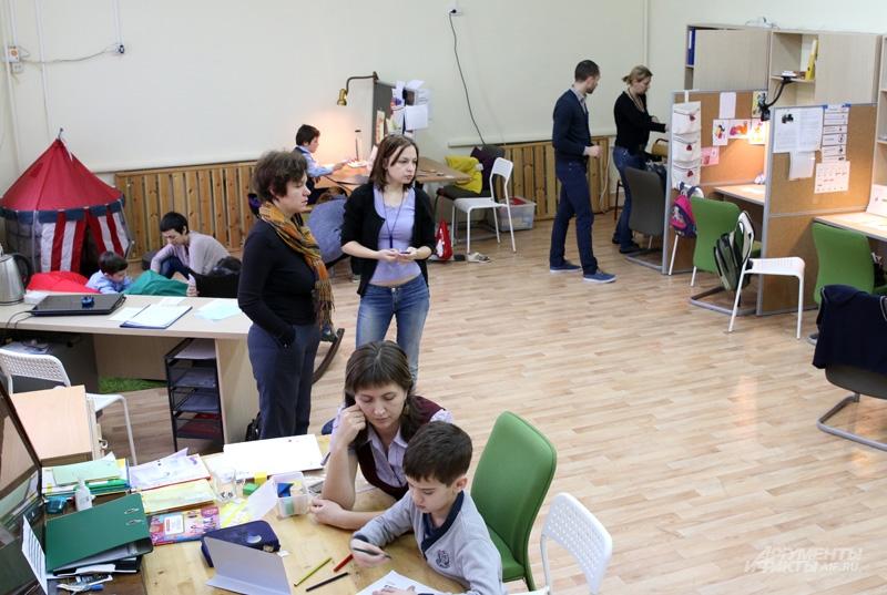 Ресурсный класс в московской школе № 1465
