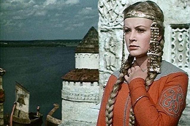Алла Ларионова в фильме «Садко», 1953 год