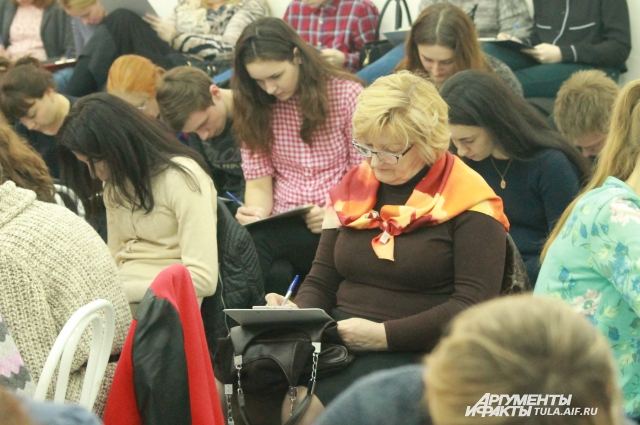 113 человек пришли в КЦ проверить свои знания.