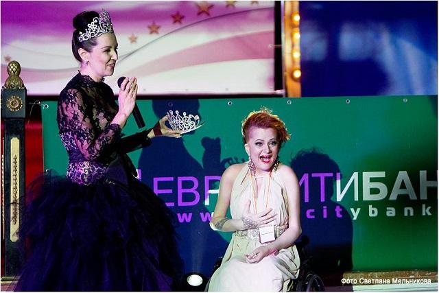 Анастасия Виноградова – «Мисс Благотворительность».