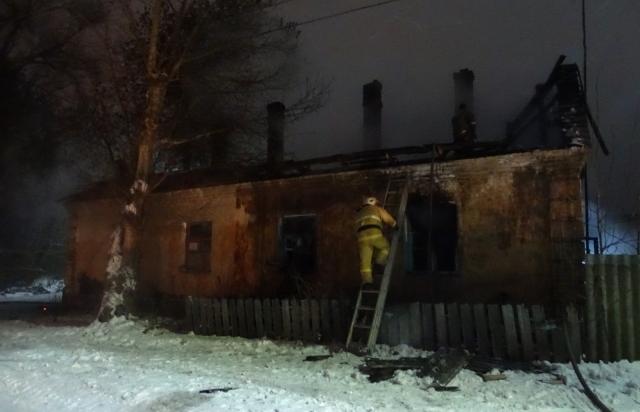 Приехавшим пожарным было уже некого спасать.