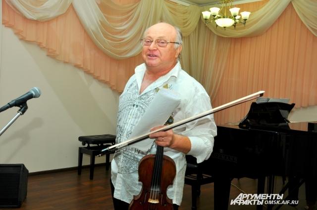 Александр Поволоцкий: «Скрипка - самый трудоёмкий инструмент».