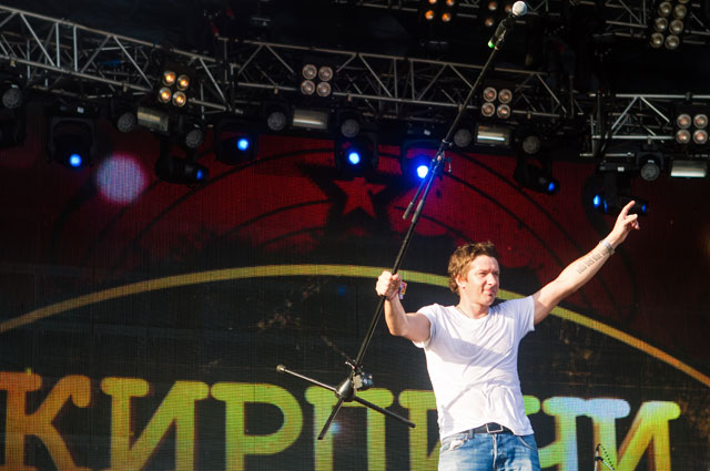 Солист группы «Кирпичи» Вася Васин