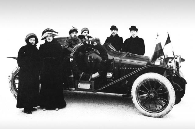Модель С-24/55 перед стартом ралли в Монте-Карло (1912 год)