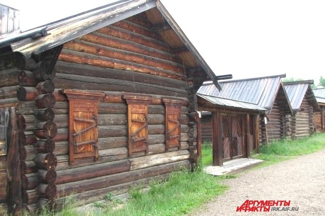 Музей «Тальцы» сохраняет историю, сложенную из брёвен.