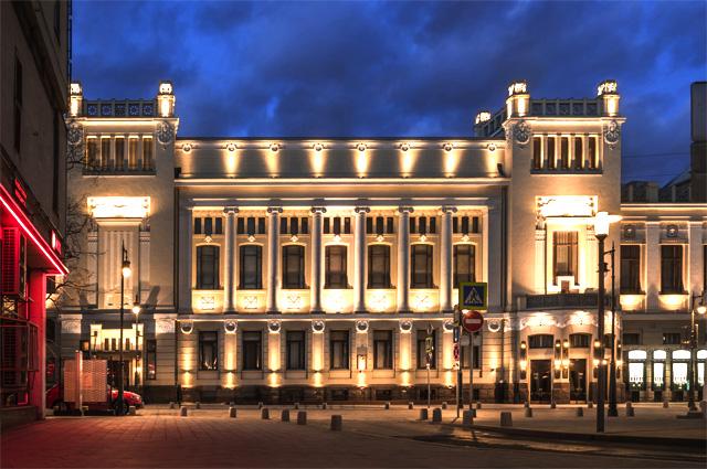 Здание Ленкома.
