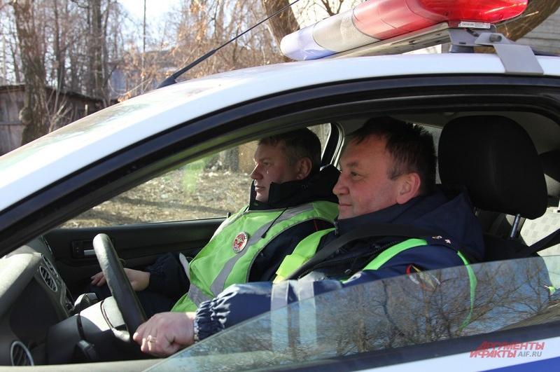 Алексей Чеботов и Алексей Кондратьев ездят в одном экипаже уже три года