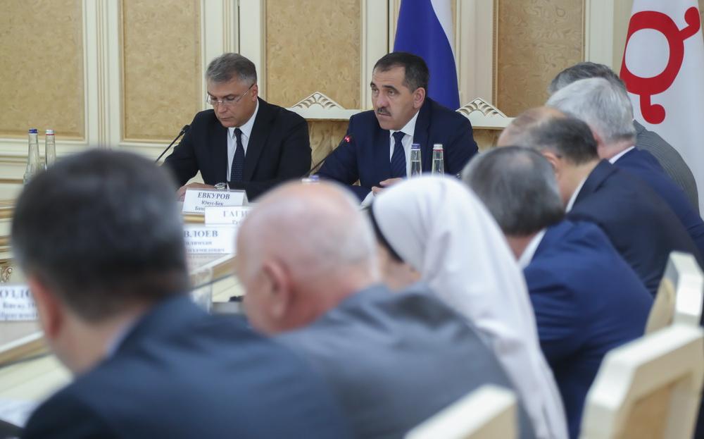 Александр Матовников принял участие в совещании в Магасе.