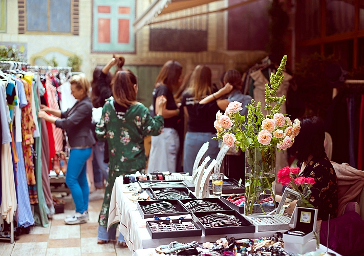 Vintage Charity Market