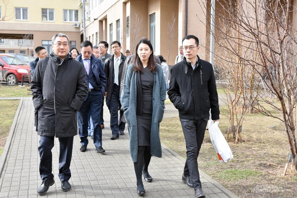 Визит китайской делегации в Академический стал очередным шагом в развитии партнёрства с Китаем.