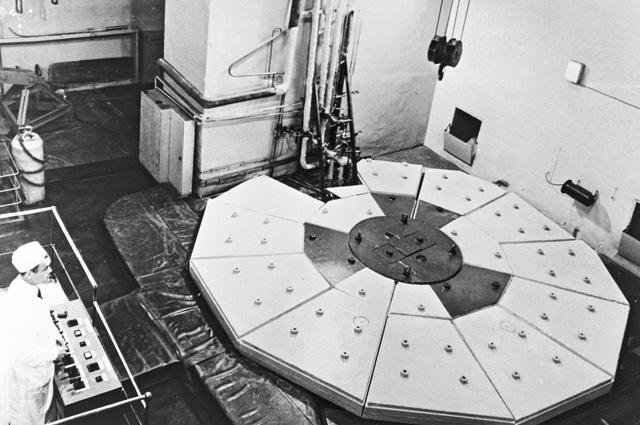 Реактор Обнинской АЭС. 1974 г.