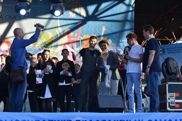 Ребята из Казахстана получили почётное первое место, а Гран-при достался команде из Омска.