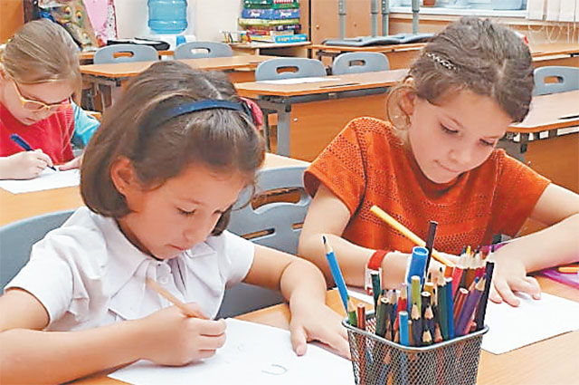 На курсы принимают детей старшего дошкольного возраста.
