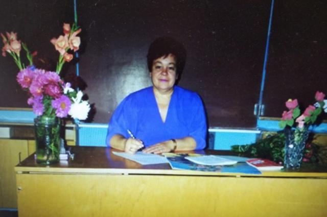 Валентина Ивановна всегда мечтала стать учителем.