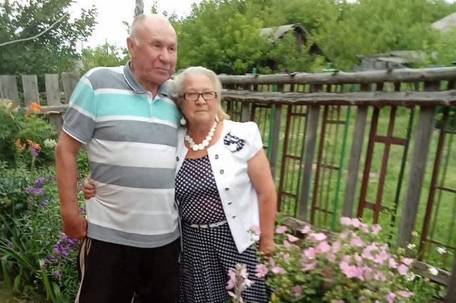 Фаина Кондратьевна с супругом.
