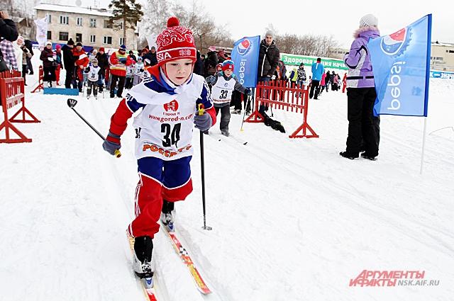 Лыжные забеги.