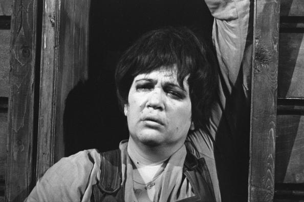 Сцена из спектакля театра Современник Баллада о невеселом кабачке . 1967 г