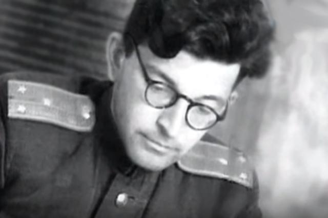 Аркадий Стругацкий во время службы