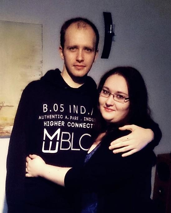 Анжелина де Майер и её муж Даниэль.