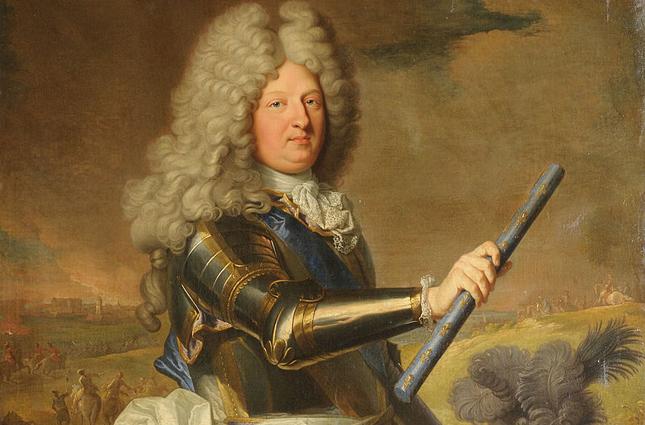 Людовик Великий Дофин. Единственный выживший законный ребёнок Людовика XIV от Марии-Терезии Испанской