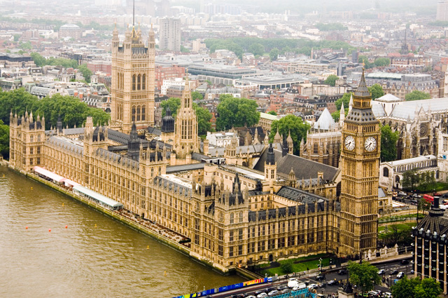 Парламент Великобритании.