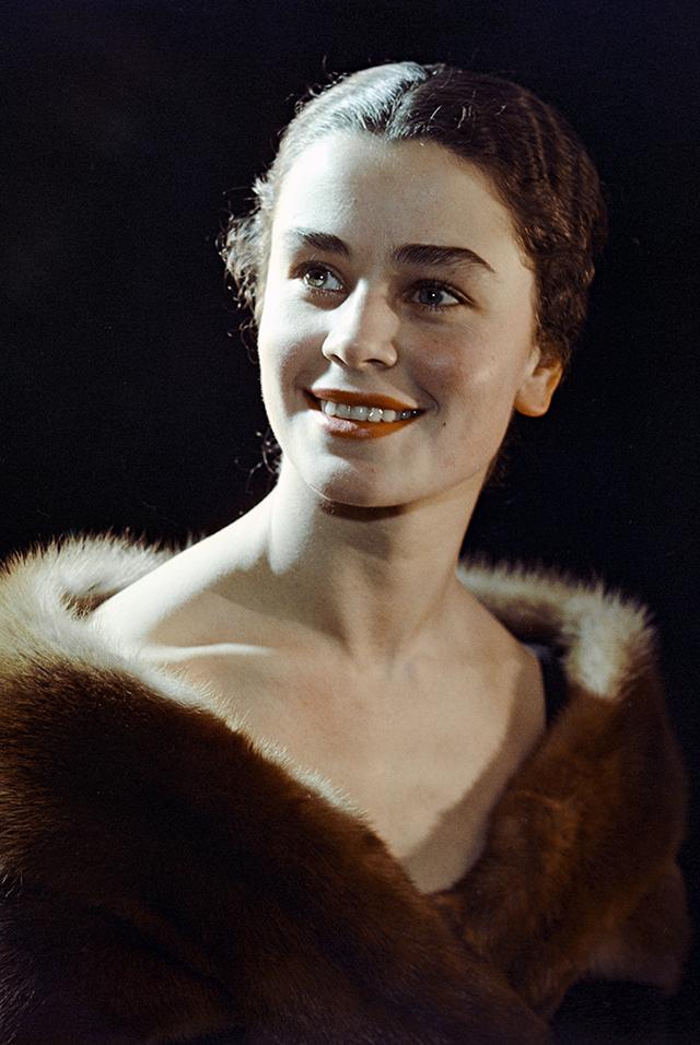 Солистка балета Ольга Заботкина.