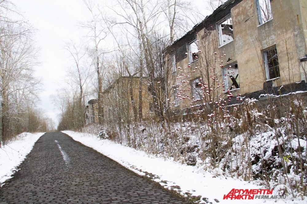 Микрорайон-«призрак», где когда-то жили шахтёры.