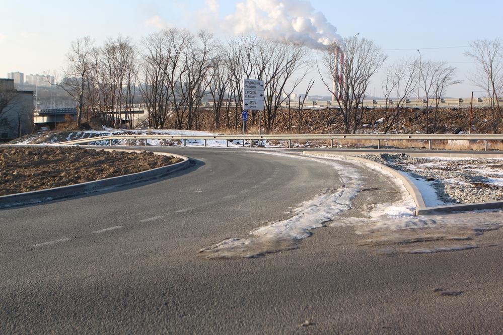 Новые съезды с дорог на главных магистралях