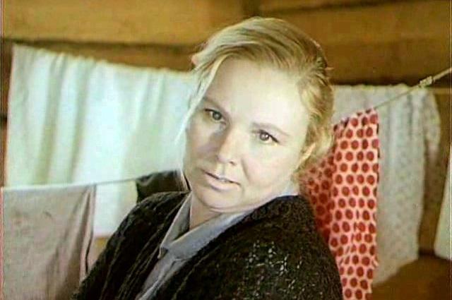 Клавдия Хабарова в фильме «Тени исчезают в полдень», 1971 год
