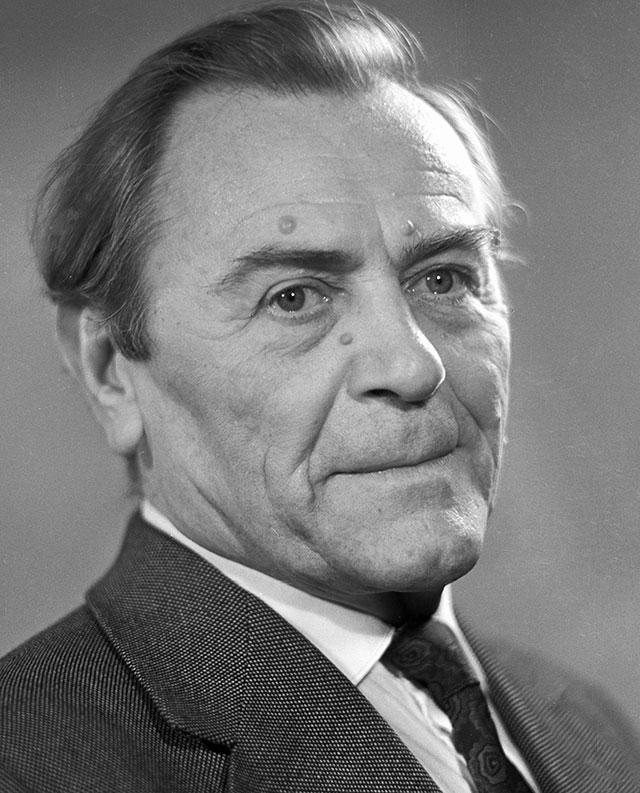 Народный артист РСФСР Михаил Болдуман, 1962 г.
